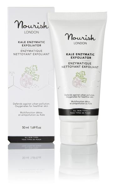 Nourish London Kale Enzymatic Exfoliator kuorinta
