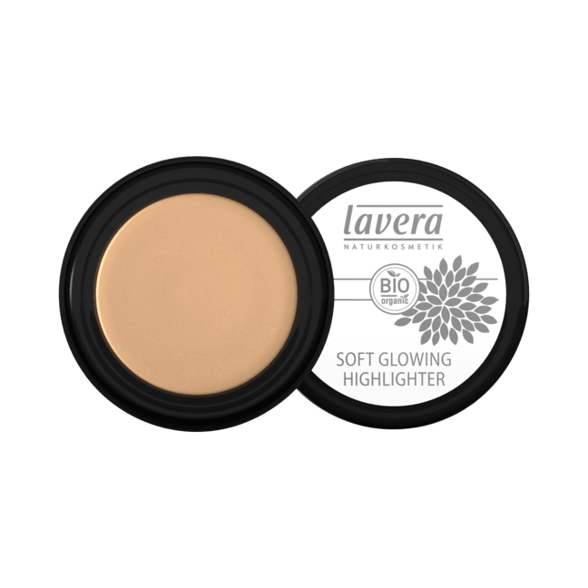 Lavera Soft Glowing Highlighter kasvohohde - Golden shine