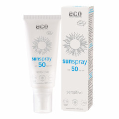 Eco Cosmetics Sensitive aurinkosuojasuihke (SK50)