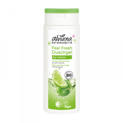 Alviana Feel Fresh lime suihkugeeli, 250ml