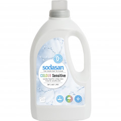 Sodasan pyykinpesuneste Color sensitive, 1500 ml